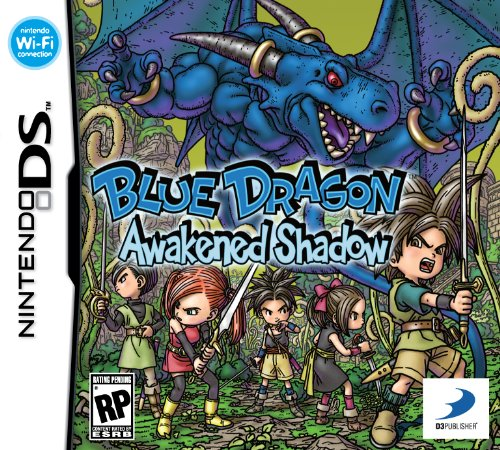 Blue Dragon: Awakened Shadow box art