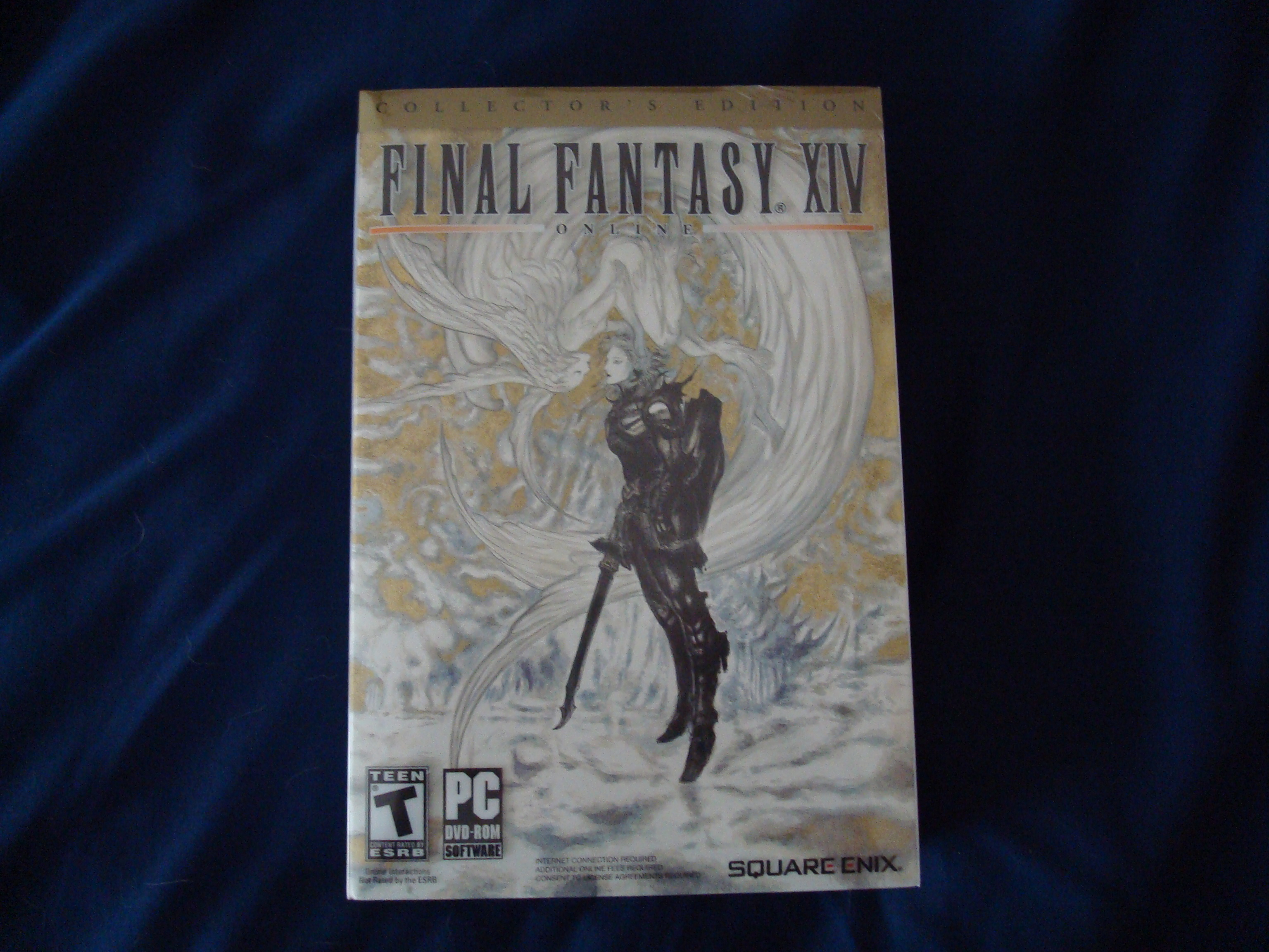 Unboxing of Final Fantasy XIV: Collector's Edition | Diehard