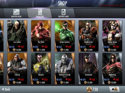 Gallery For > Injustice Character Skins