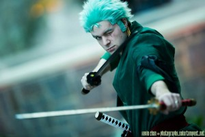 Ex-Shadow as Roronoa Zoro - Picture by Kevin Chan