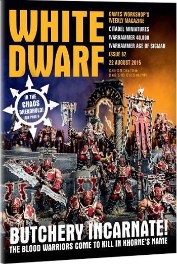 Tabletop Review: White Dwarf, Issue #82 (Warhammer: Age of ...