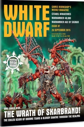 Tabletop Review: White Dwarf, Issue #87 (Warhammer: Age of ...